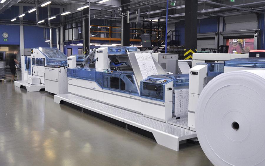 Nowe maszyny w naszej drukarni