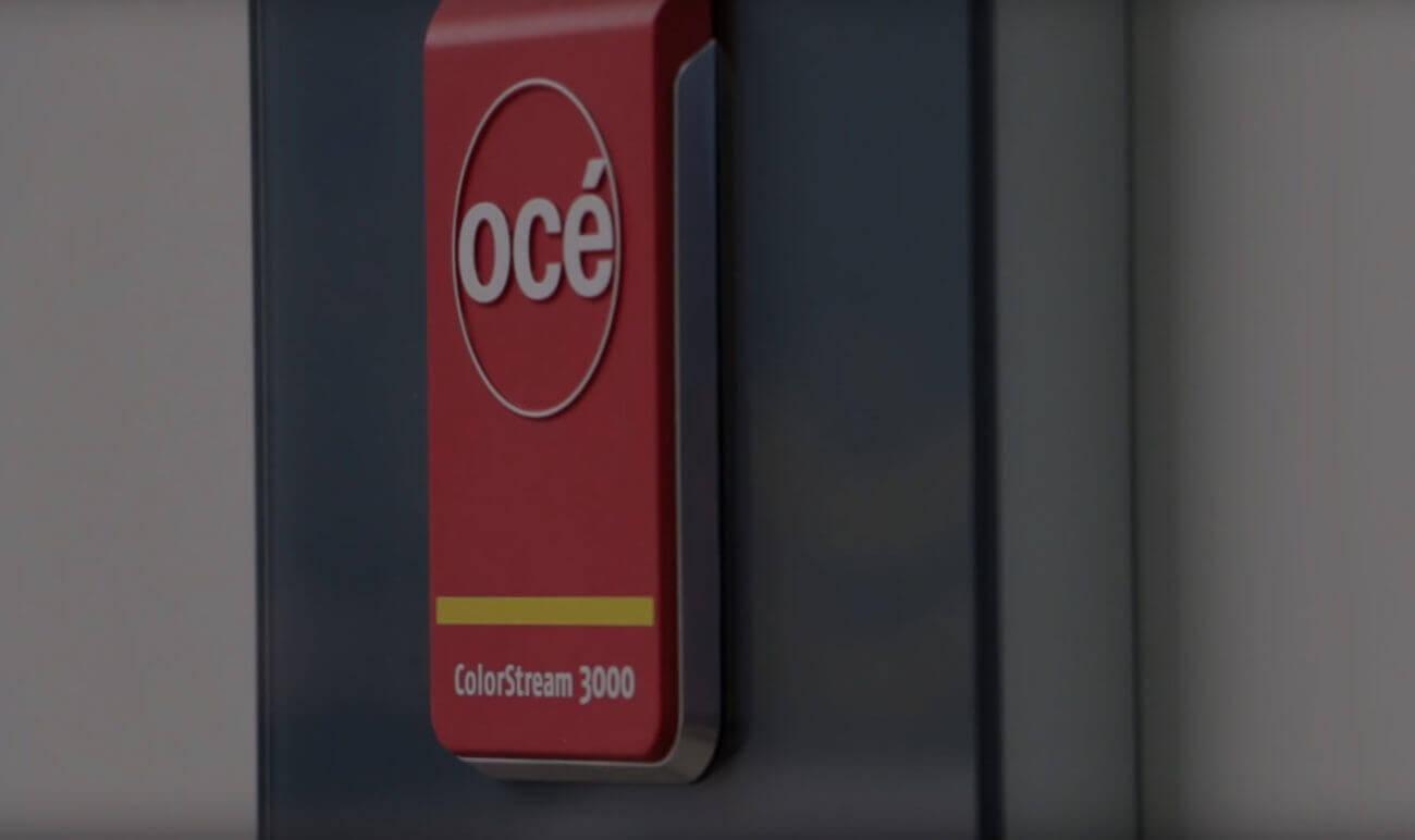 Instalacja maszyny rolowej Océ ColorStream w naszej drukarni