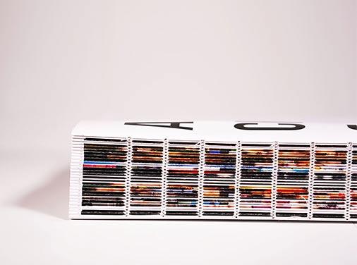 szyty blok książki
