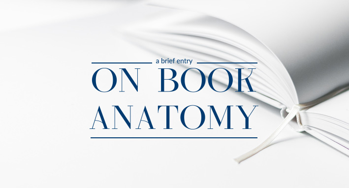 On book anatomy
