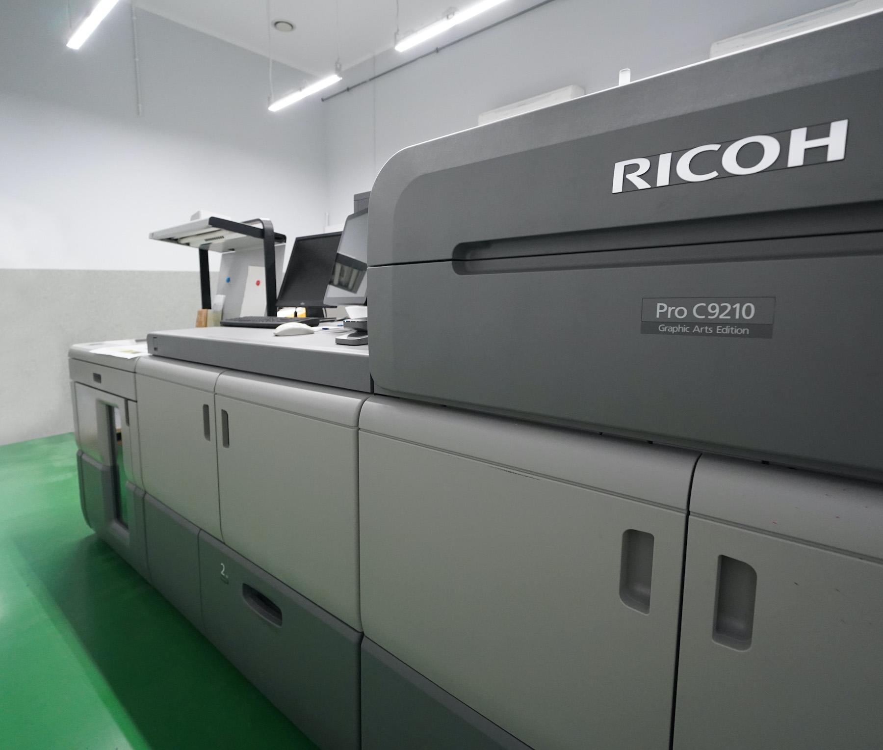 Ricoh Pro C9200 – nowe systemy w naszej drukarni