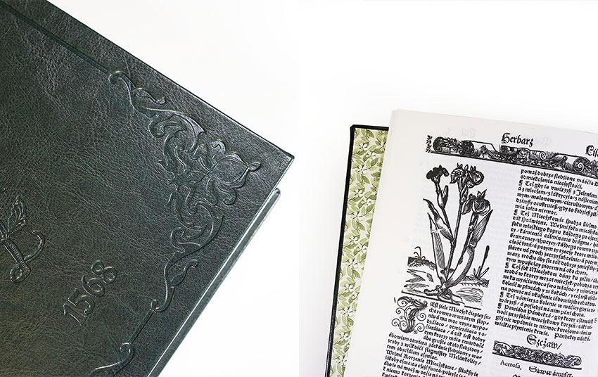 reprint herbarz okładka