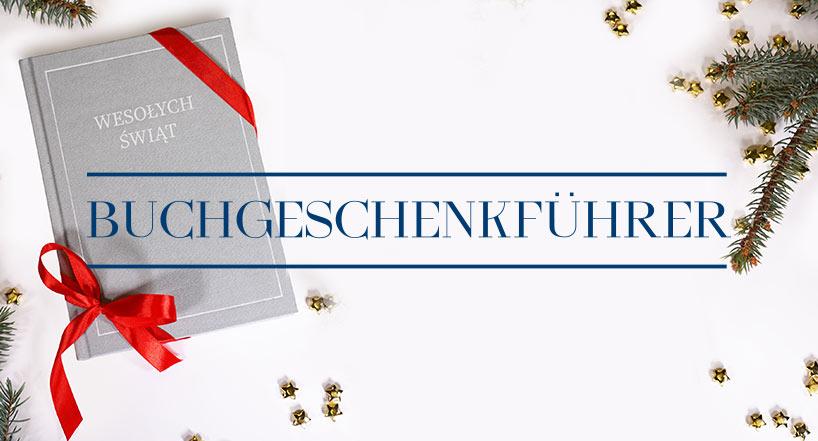 Bald Weihnachten, bald Nikolausfeier! Geschenkführer