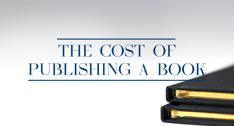 How much does it cost to print a book?