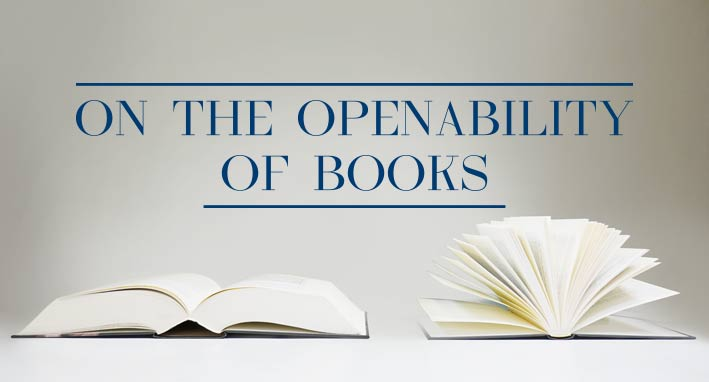 Openability of books